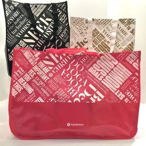 Lululemon Shopping Totes